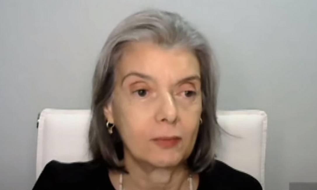 A ministra do STF Cármen Lúcia 08/04/2021 Foto: Divulgação