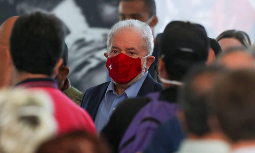 O ex-presidente Luiz Inácio Lula da Silva 10/03/2021 Foto: AMANDA PEROBELLI / REUTERS