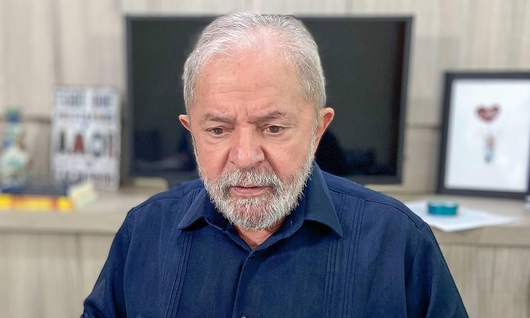 O ex-presidente Luiz Inácio Lula da Silva 16/04/2020 Foto: Roberto Stuckert Filho / Divulgação