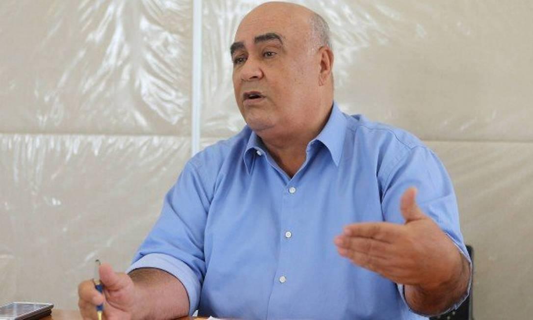 Ex-prefeito de Nova Iguaçu Nelson Bornier morre vítima da covid-19 Foto: Guilherme Pinto/ Arquivo O Globo