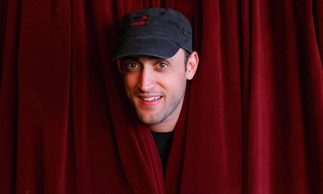 O ator Paulo Gustavo em 2008, quando estourou com o espetáculo