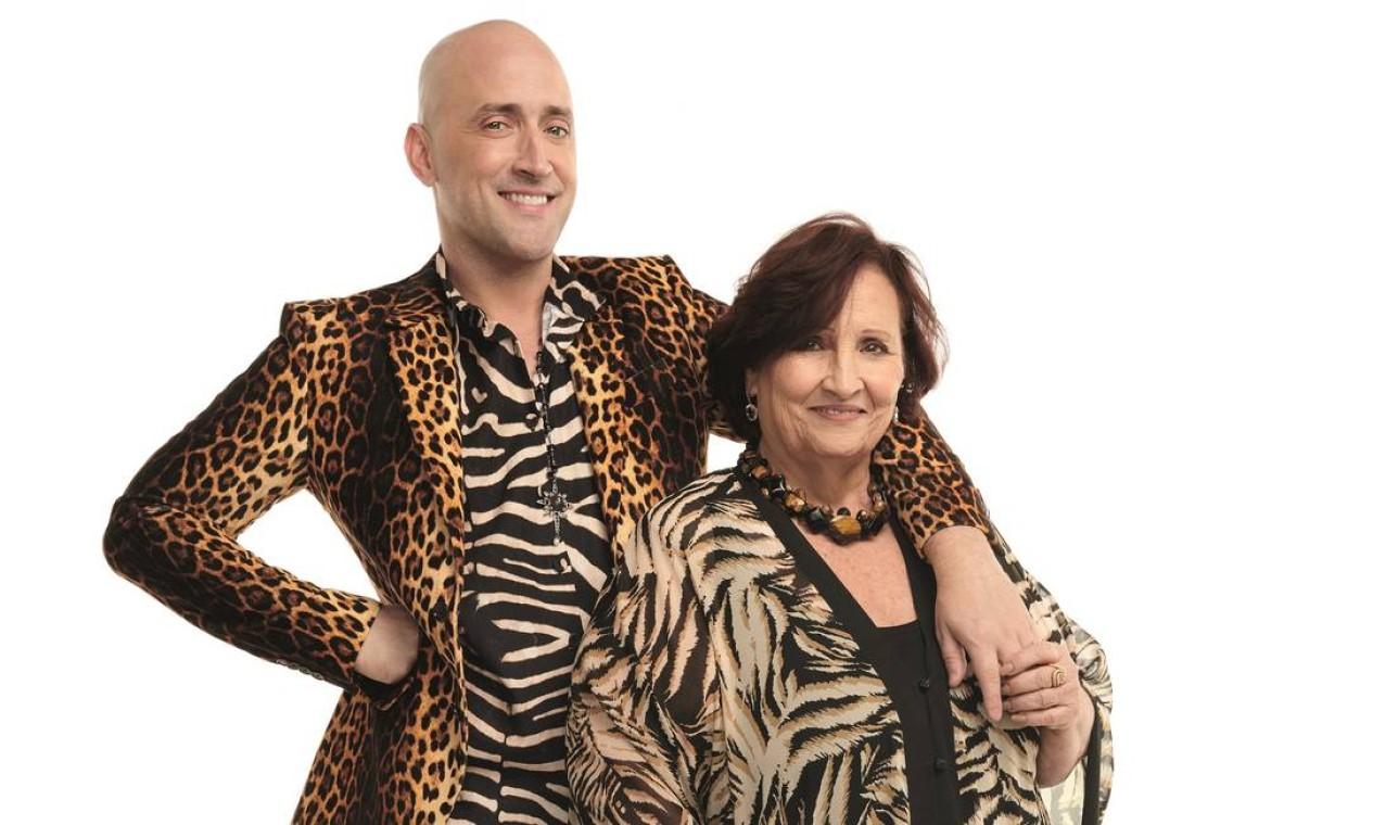 Paulo Gustavo e a mãe, Déa Lúcia, inspiração para sua personagem que abriu as portas para o sucesso Foto: Fabio Bartelt / Divulgação