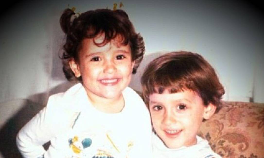 Paulo Gustavo e a irmã, Juliana Foto: Reprodução