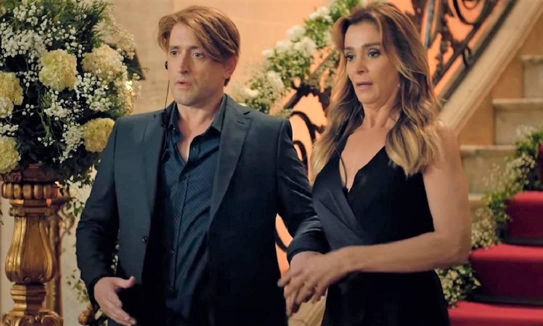 Paulo Gustavo e Mônica Martelli no filme