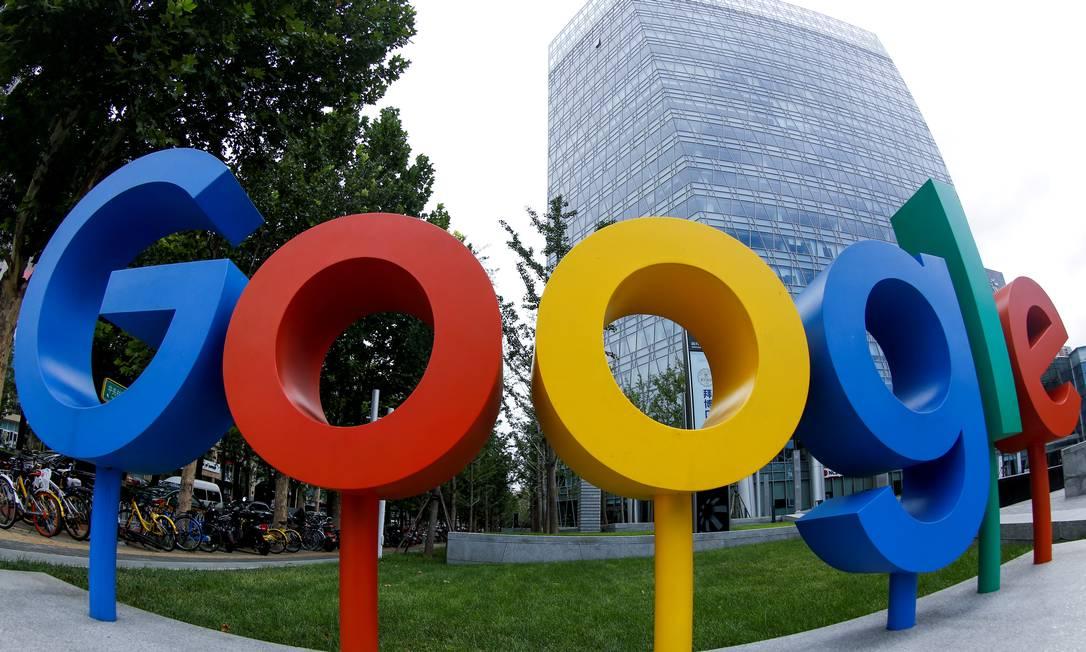 Google está sendo acusado de se beneficiar de informações exclusivas Foto: THOMAS PETER / Reuters