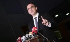 O presidente do Senado, Rodrigo Pacheco 08/04/2021 Foto: Pedro França / Pedro França/Agência Senado