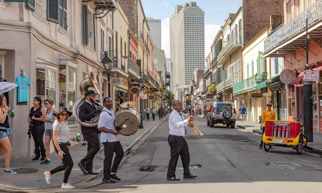 French Quarter, em Nova Orleans Foto: SARA ESSEX BRADLEY / NYT