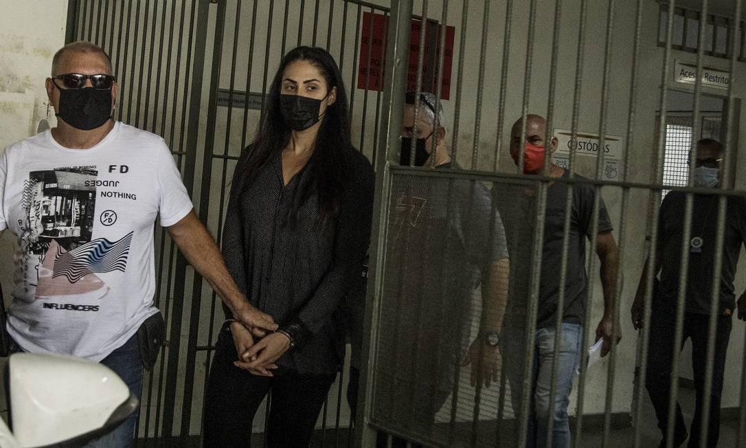 Monique Medeiros da Costa e Silva trocou defesa de namorado, o vereador Dr. Jairinho (sem partido), por outro escritório Foto: Guito Moreto