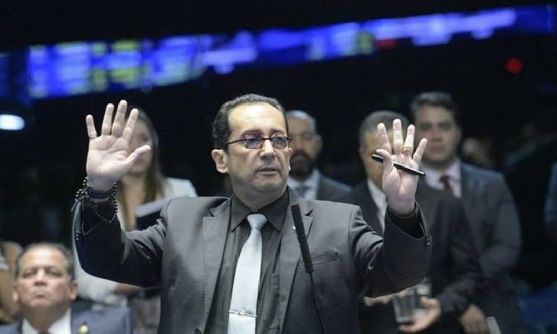 O senador Jorge Kajuru Foto: Roque de Sá/Agência Senado