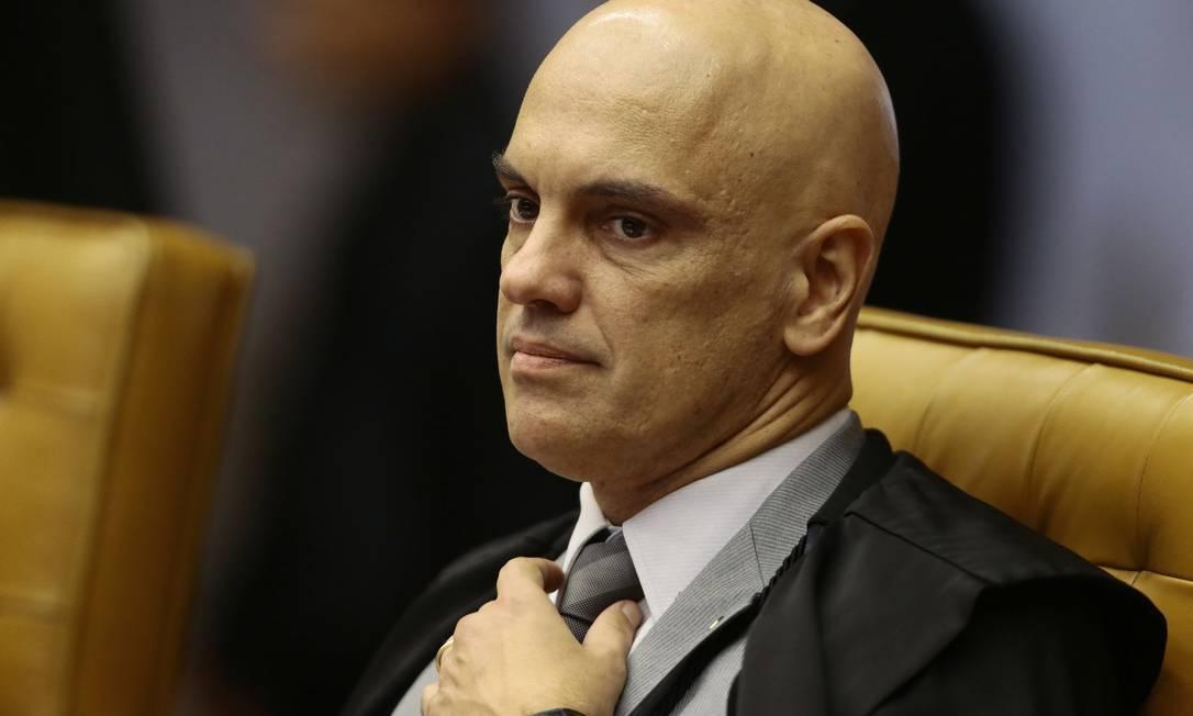 Alexandre de Moraes, ministro do STF Foto: Jorge William/Agência O Globo