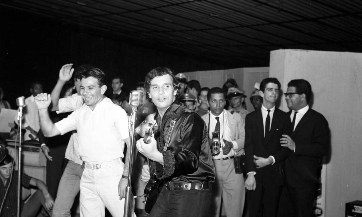 Apresentação em 1966, no Rio de Janeiro Foto: Agência O Globo - 17/07/1966