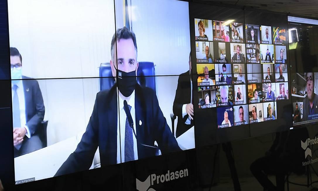 Senado decide sobre abertura da CPI da Pandemia para investigar governo federal Foto: Jefferson Rudy / Jefferson Rudy/Agência Senado