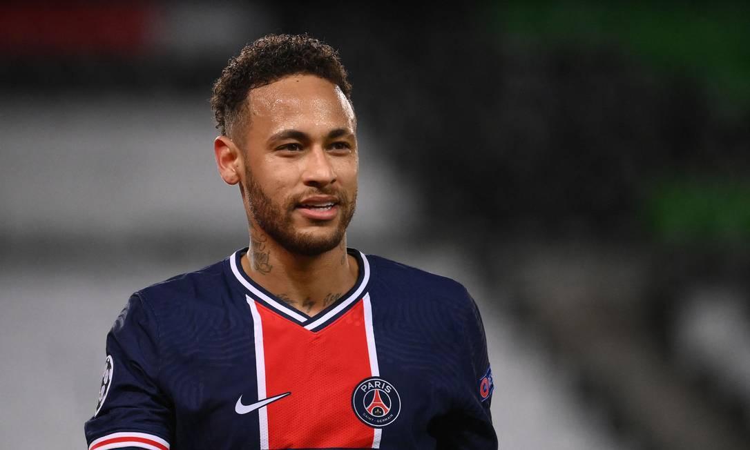 Neymar está na semifinal da Champions Foto: FRANCK FIFE / AFP