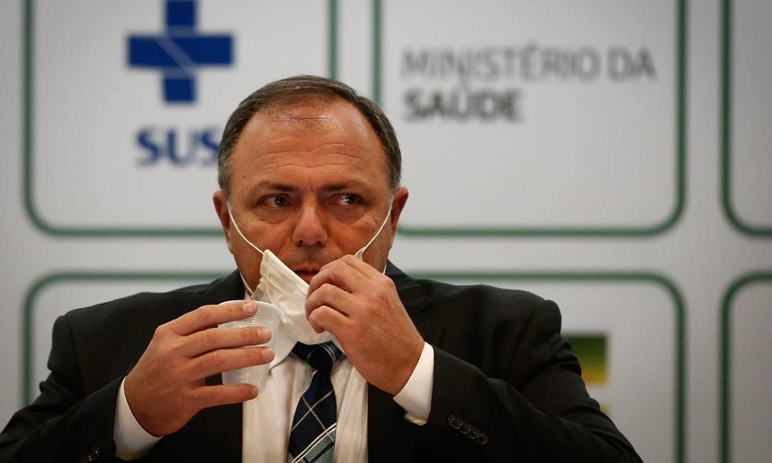 Eduardo Pazuello, ex-ministro da Saúde Foto: Pablo Jacob / Agência O Globo