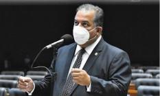 Líder do governo no Congresso, senador Eduardo Gomes Foto: Waldemir Barreto/Agência Senado