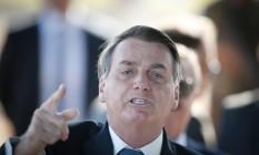 Jair Bolsonaro Foto: Pablo Jacob/Agência O Globo
