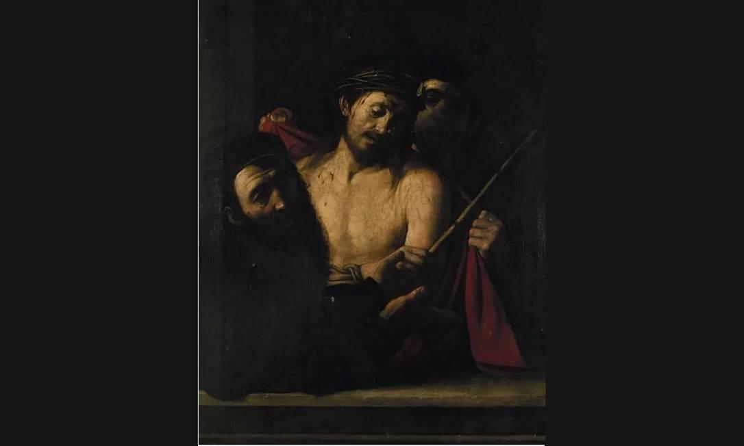 Quadro retirado de leilão na Casa Ansorena, em Madrid, por suspeita de se tratar de uma obra de Caravaggio Foto: El País