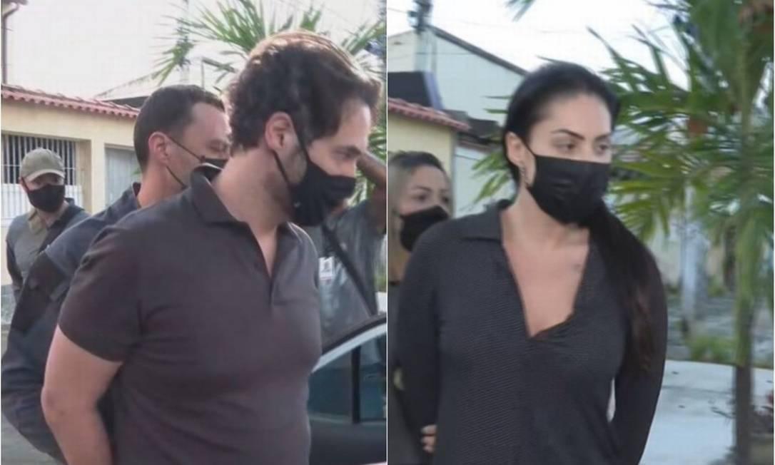 Casal Dr. Jairinho e Monique Medeiros estão presos pela morte do menino Henry Borel, filho da professora e enteado do vereador Foto: Reprodução