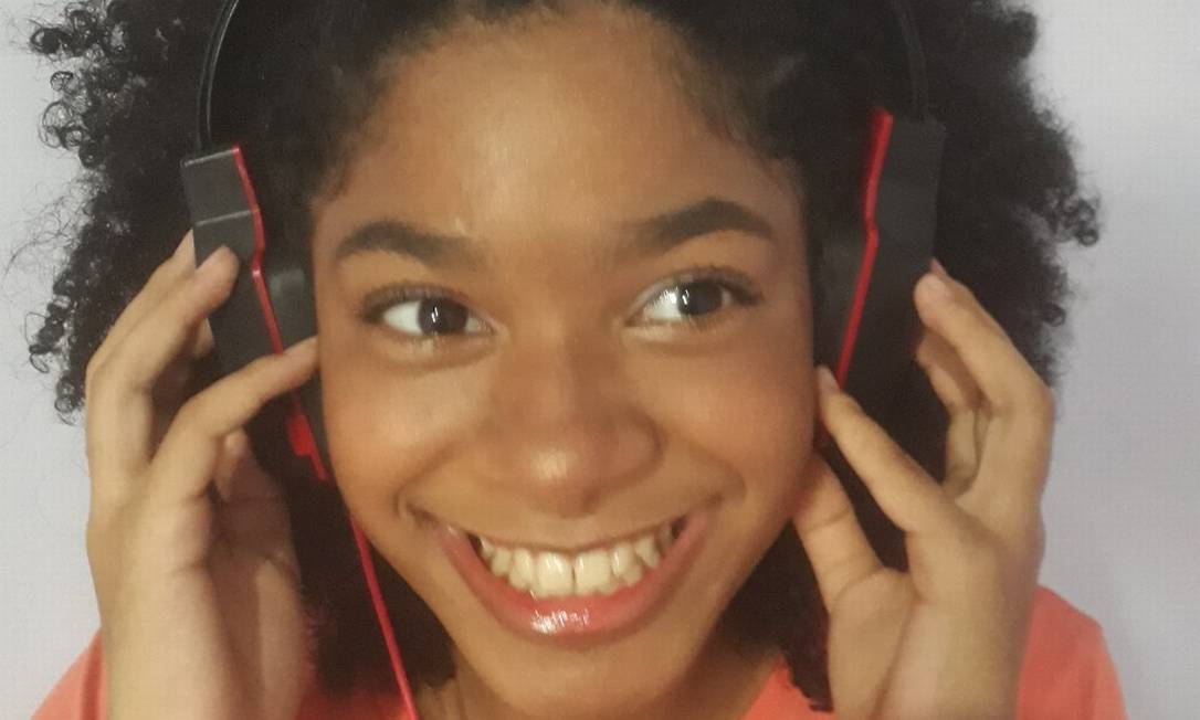 Asheley Giovana dos Santos Silva estrela radionovela educativa Foto: Acervo pessoal