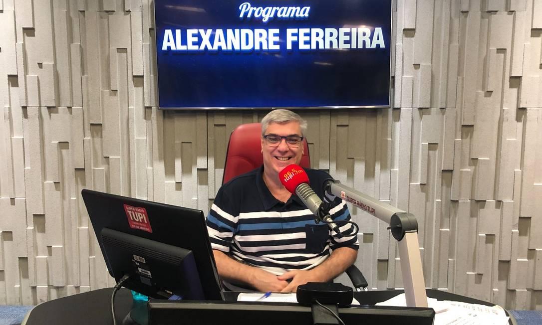 Alexandre Ferreira é comunicador, jornalista e professor Foto: Acervo pessoal