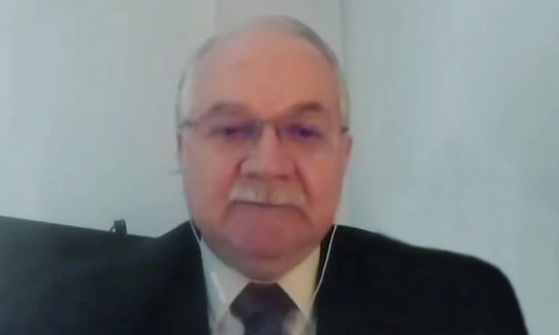 O ministro do STF Edson Fachin. 13/04/2021 Foto: Divulgação