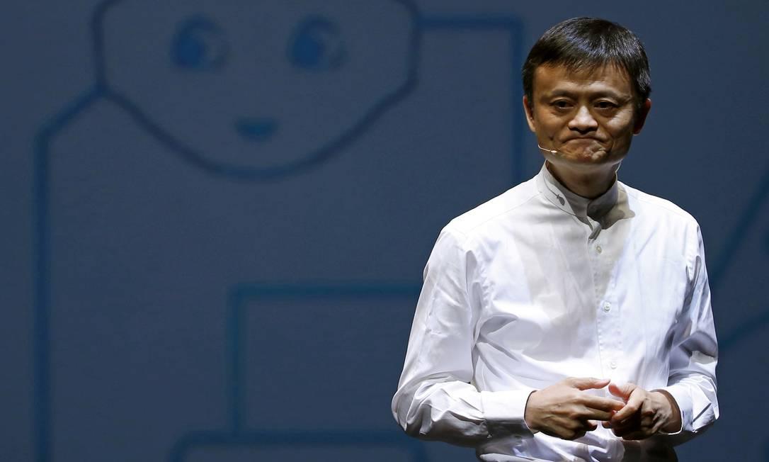 O bilionário chinês Jack Ma: em maus lençóis na relação com o governo da China Foto: Yuya Shino / REUTERS/18-6-2015