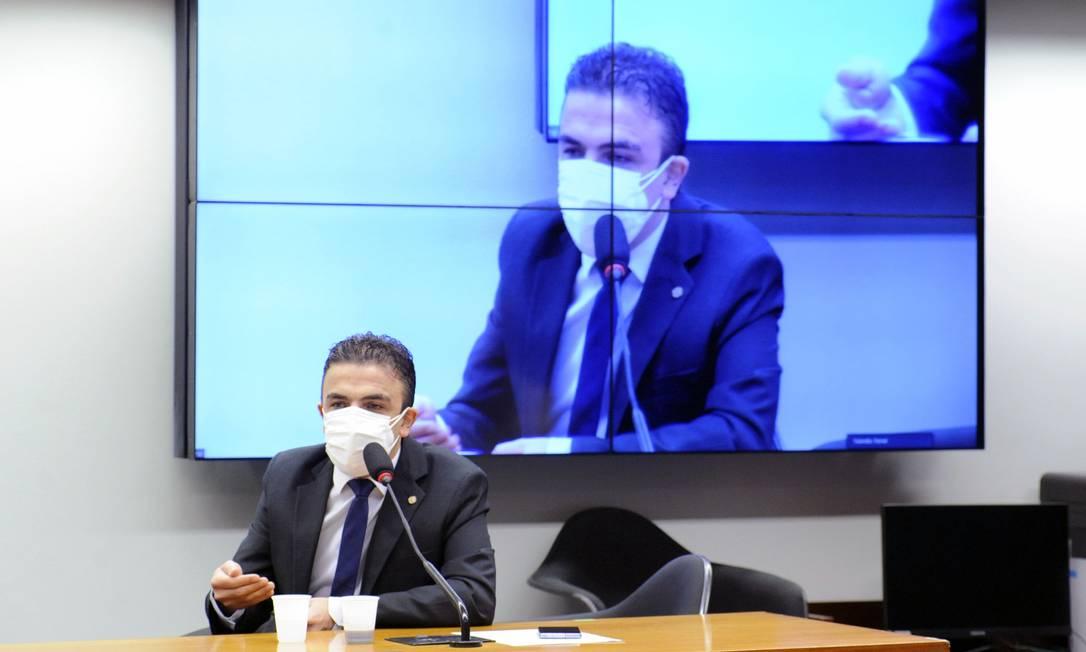 Aliel Machado é o novo presidente da comissão que trata da prisão após segunda instância Foto: GILMAR FELIX / Câmara dos Deputados