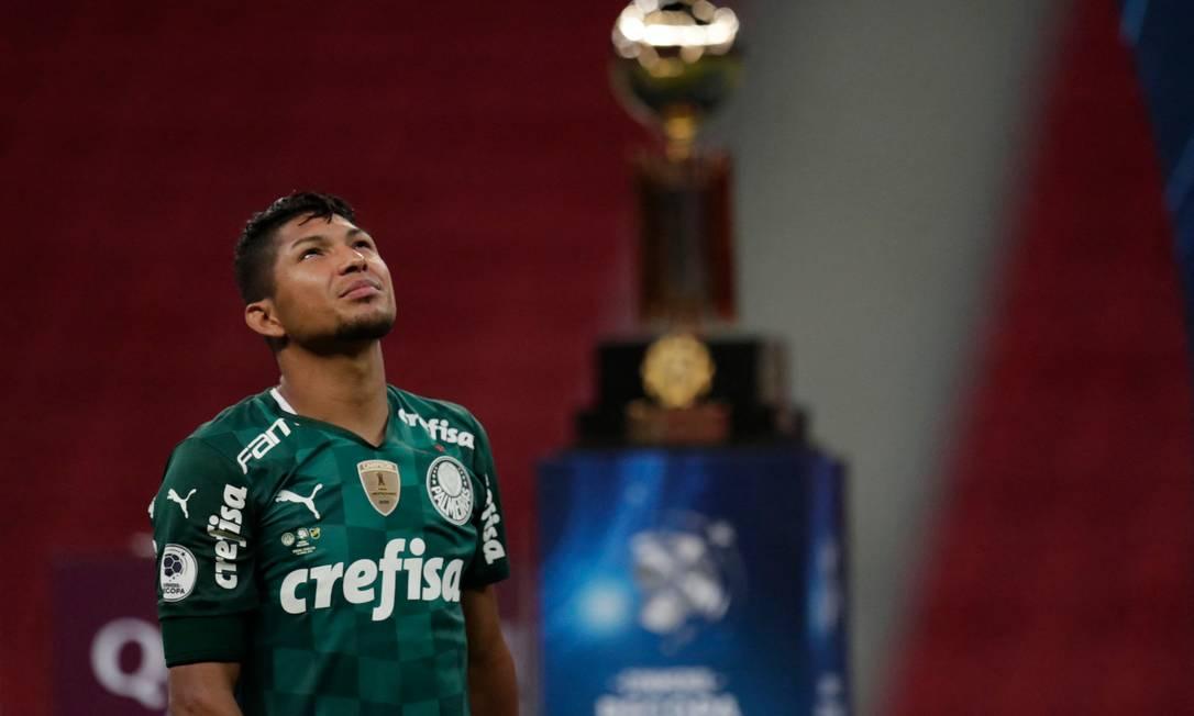Palmeiras perdeu título da Recopa para o Defensa y Justicia Foto: UESLEI MARCELINO / AFP