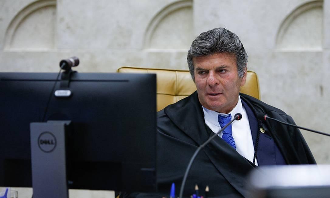 O presidente do STF, Luiz Fux 15/04/2021 Foto: Divulgação