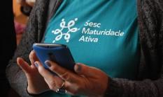 No Rio Grande do Sul, o grupo Maturidade Ativa conta com programação semanal composta por oficinas variadas e o tradicional Bingo da Maturidade. Foto: Bárbara Nunes / Sesc
