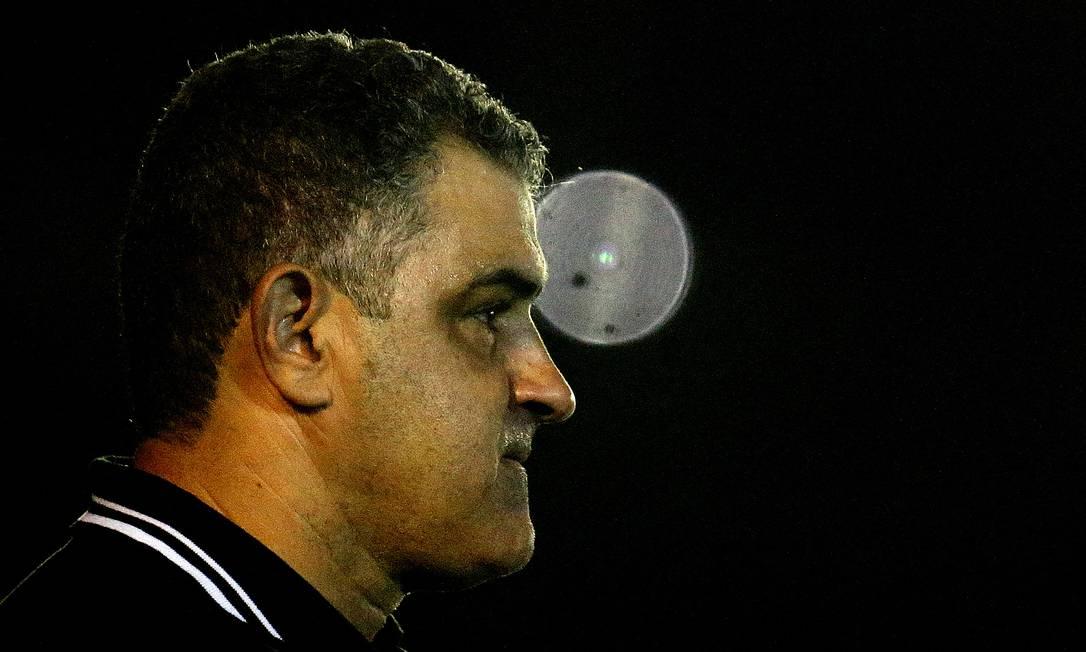 Marcelo Chamusca, técnico do Botafogo Foto: VItor Silva/Botafogo
