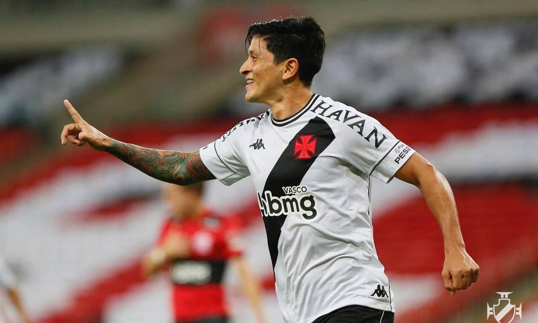 Cano marcou o segundo gol do Vasco sobre o Flamengo Foto: Rafael Ribeiro/Vasco