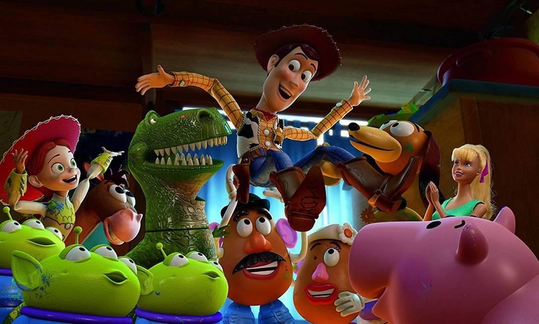 """""""Toy Story 3"""" levou Oscar de melhor filme de animação em 2011. Foto: Divulgação"""