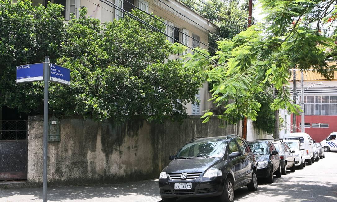 Cosme Velho: moradores dizem que falta de luz é cr?nica, mas piorou nas últimas semanas Foto: Laura Marques/18-1-2012 / Agência O Globo
