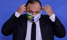 Ex-ministro da Saúde, Eduardo Pazuello deve voltar ao governo no comando da Secretaria de Moderninzação Foto: SERGIO LIMA / AFP