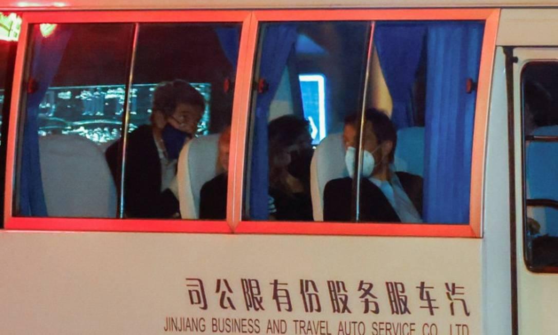 Enviado ambiental de Joe Biden, John Kerry, durante visita a Xangai Foto: ALY SONG / REUTERS/14-4-21