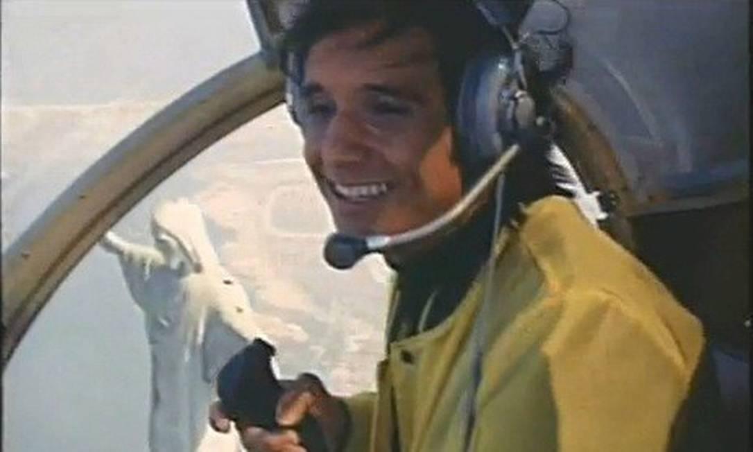 """Cena do filme """"Roberto Carlos em ritmo de aventura"""" Foto: Reprodução"""