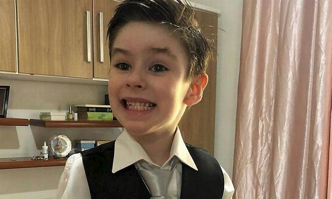 Henry Borel, de 4 anos, morreu em 8 de março de 2021 Foto: Foto REPRODUÇÃO / Agência O Globo