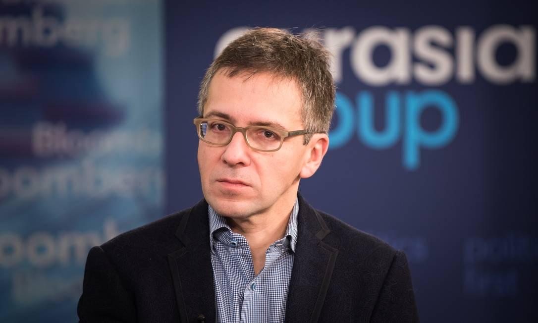 Ian Bremmer, presidente do Eurasia Group, acredita que o papel do Estado vai crescer daqui para frente Foto: Kholood Eid / Bloomberg-03/01/2017