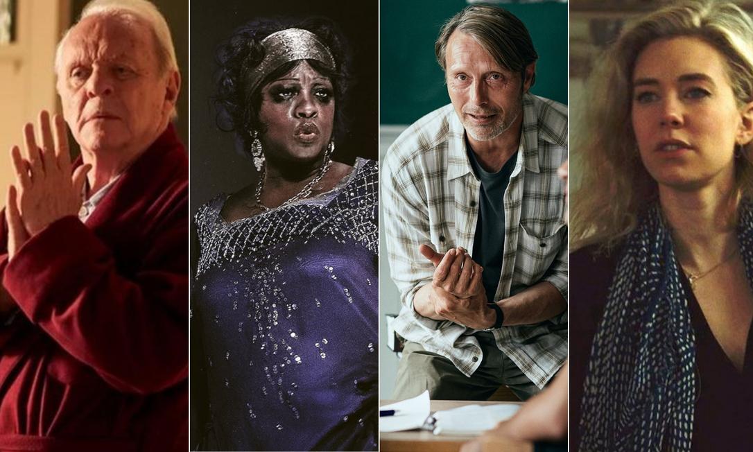 Indicados ao Oscar Foto: Arte