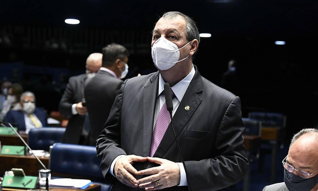 O senador Omar Aziz (PSD-AM). Foto: Jefferson Rudy / Agência Senado