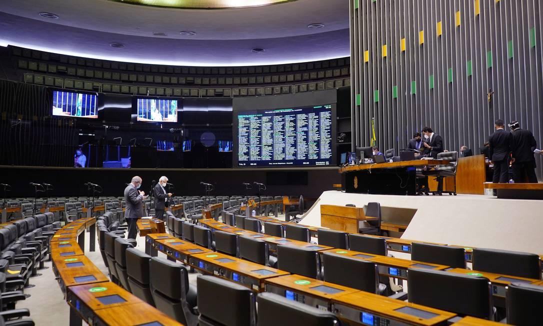 Congresso vota projeto que destrava medidas de combate à Covid-19 Foto: Will Shutter / Agência Câmara