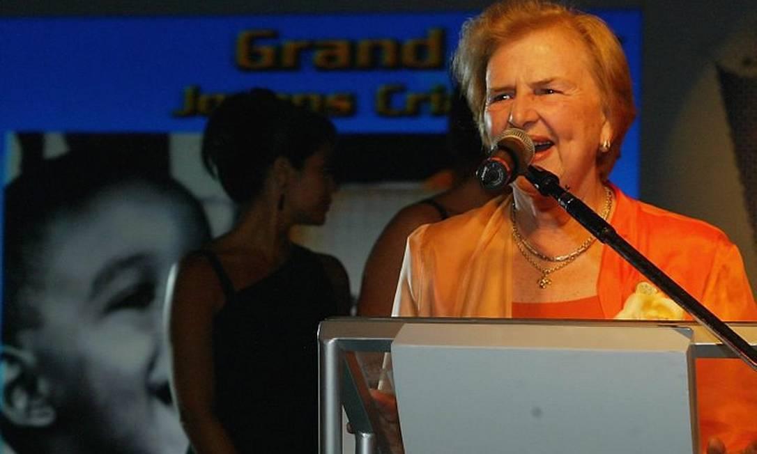 Zilda Arns, fundadora da Pastoral da Criança, morreu no terremoto que atingiu o Haiti em 2010 Foto: Arquivo