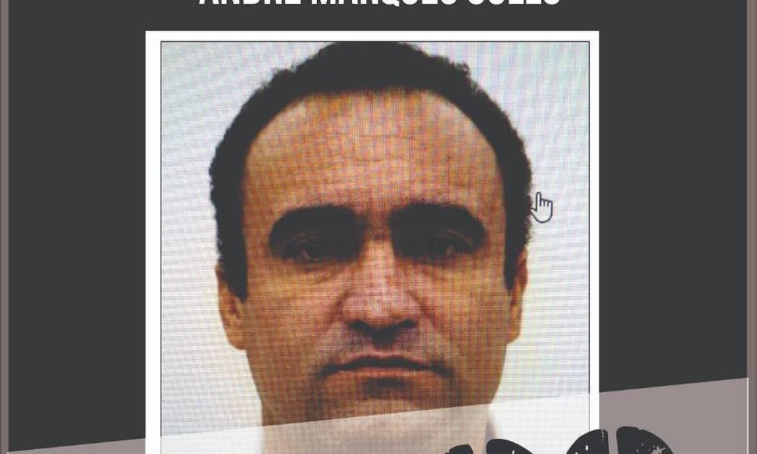 Andre Marques Gullo, conhecido como Jibóia Foto: Disque Denúncia