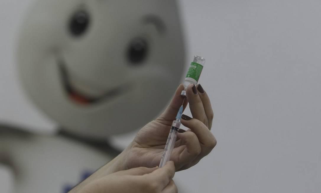 Município do Rio segue com calendário de imuniza??o contra a Covid-19 e passa a incluir grávidas com comorbidades Foto: Márcia Foletto em 27-01-2021 / Agência O Globo