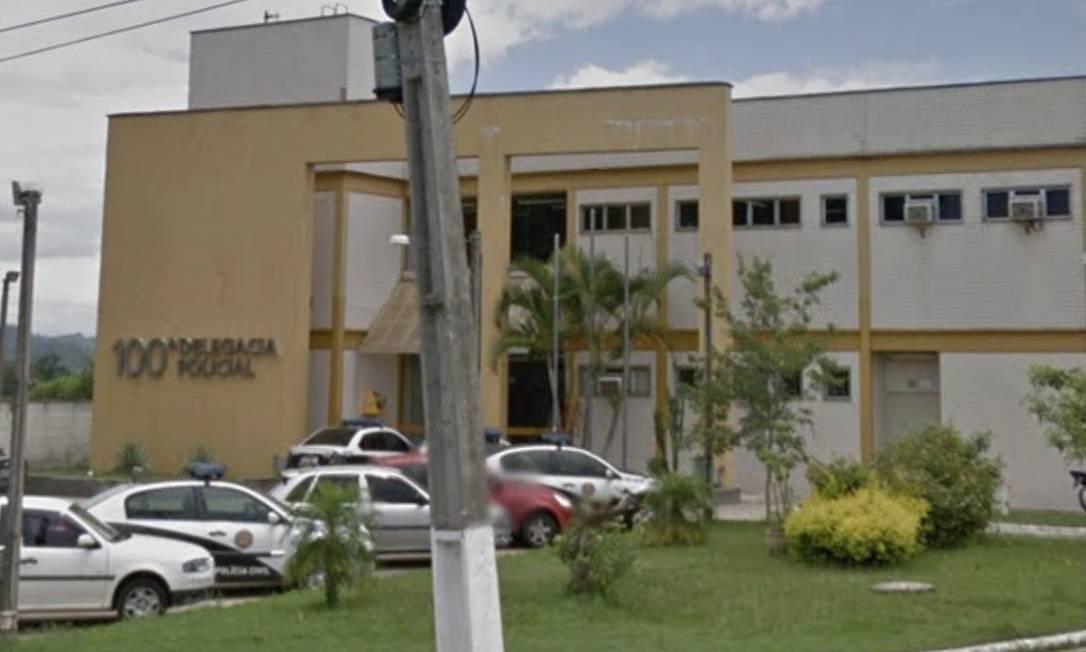 A delegacia de Porto Real, onde mãe e madrasta foram autuadas por tortura Foto: Google Maps / Reprodução