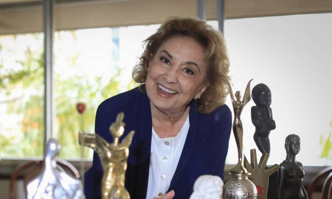 Eva Wilma, em 2018 Foto: Edilson Dantas / Agência O Globo