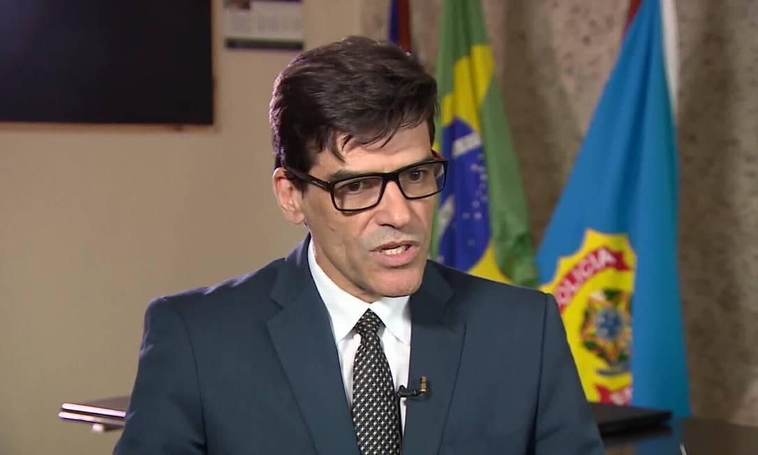 Alexandre Saraiva, ex-superintendente da PF no Amazonas Foto: Reprodução/TV Globo