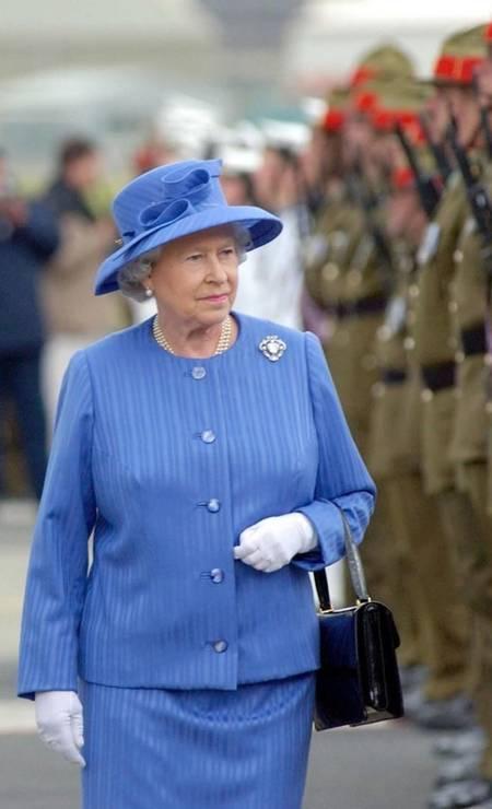 Usar as mesmas cores na roupa e no chapéu é um clássico Foto: Getty Images
