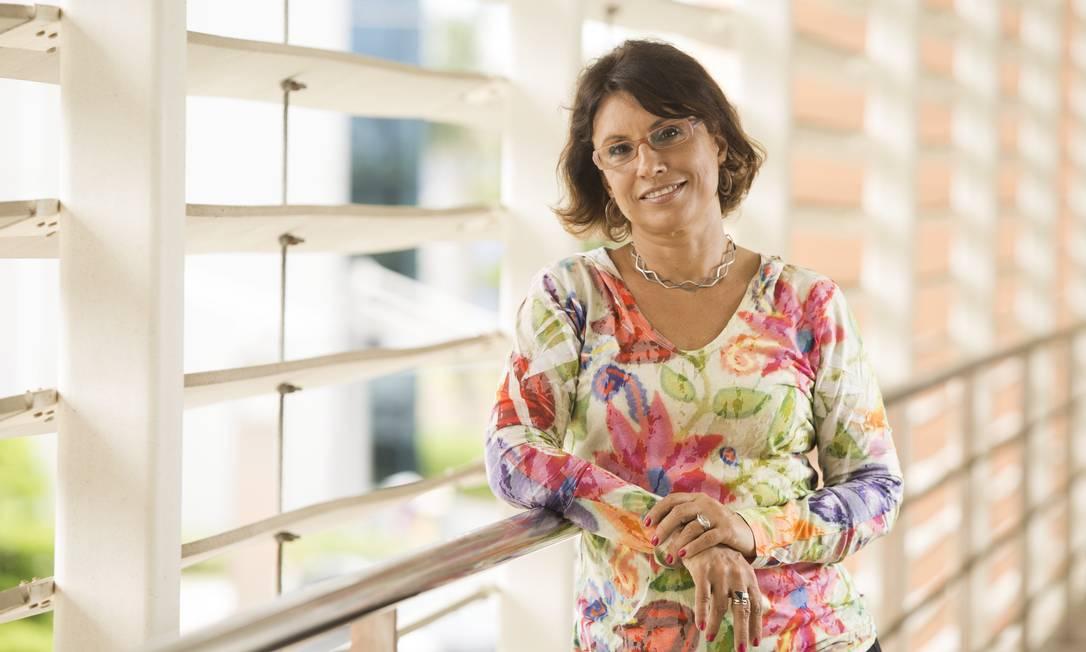 A engenheira Suzana Kahn, ex-vice presidente do Painel Intergovernamental de Mudanças Climáticas, e responsável pela implantação do projeto Fundo Verde no Parque Tecnológico do Fundão Foto: Ana Branco